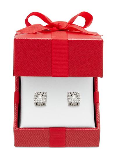 macys diamond earrings